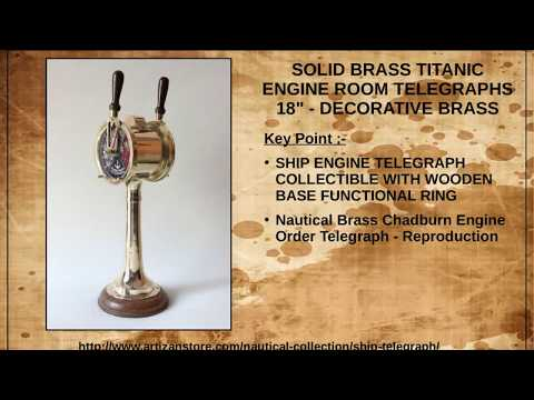 Buy Antique Maritime Telegraphs, Vintage Ship Telegraph Online at Best Price