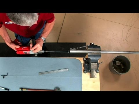 Gunsmithing - Repairing Pitting in a Shotgun Barrel