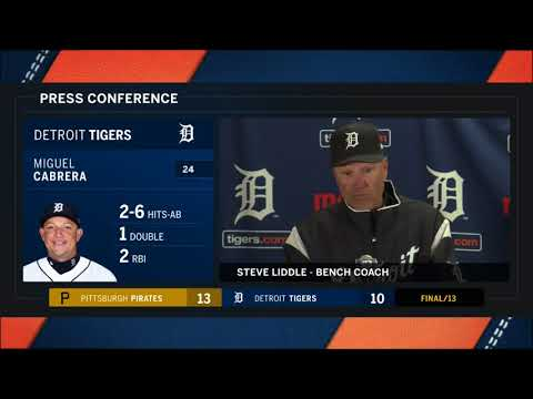 Tigers LIVE 3.30.18: Steve Liddle