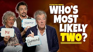The Grand Tour: Who's Most Likely ROUND 2! ft. Jeremy Clarkson, Richard Hammond and James May