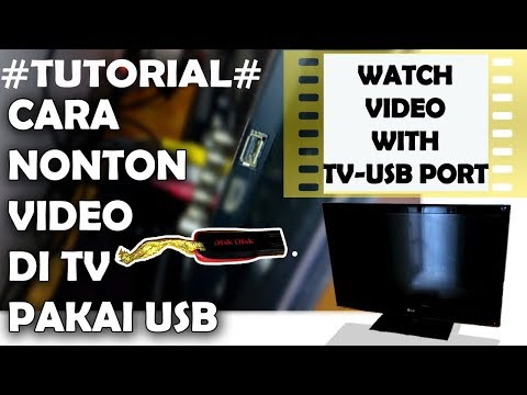 TUTORIAL - How To Make Video Able To Be Played On TV Through USB Port