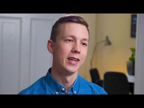 VIDEO: Isak Öhrlund berättar om projektet On, off eller  mittemellan