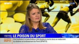1er bandeau sur les attentats de Paris le 13 novembre 2015 sur BFM TV