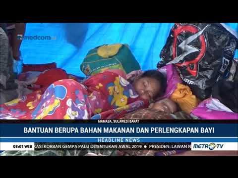 Polda Sulbar Kirim Bantuan Logistik untuk Pengungsi di Mamasa Mp3