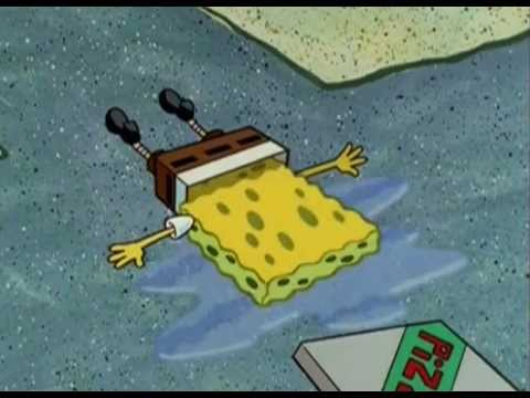 SpongeBob crying - YouTube
