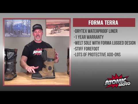 DOGFIGHT: Forma Adventure vs. Forma Terra Boots