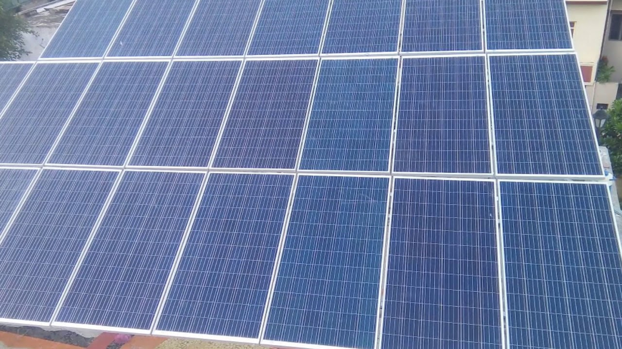Sld Solar Power Plant And Types Of Pv Panels Youtube 30kw System Off Grid Wiring Diagram