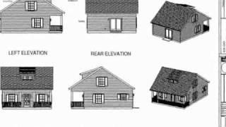 Cottage Cabin Design (custom Home)