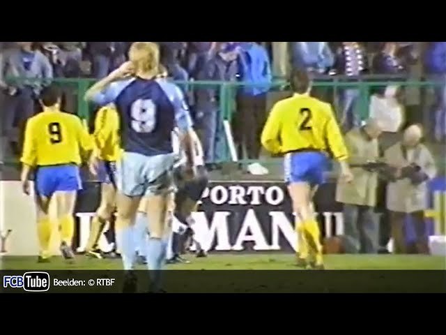1987-1988 - Jupiler Pro League - 25. Racing Jet Brussel - Club Brugge 0-4