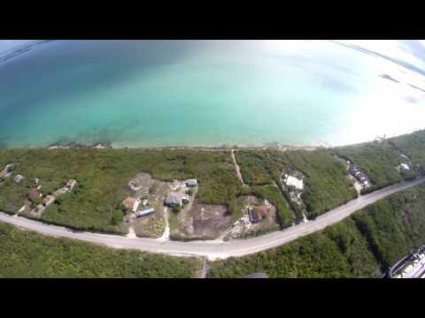 Susan on a gyro flight to North Caicos- Part 1