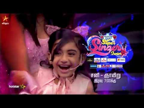 Super Singer Junior 6 Promo 01-12-2018 To 02-12-2018 Vijay TV Show Online