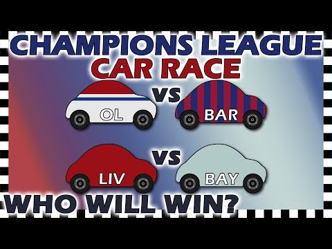 Country Cars Champions League Lyon vs Barcelona - Liverpool