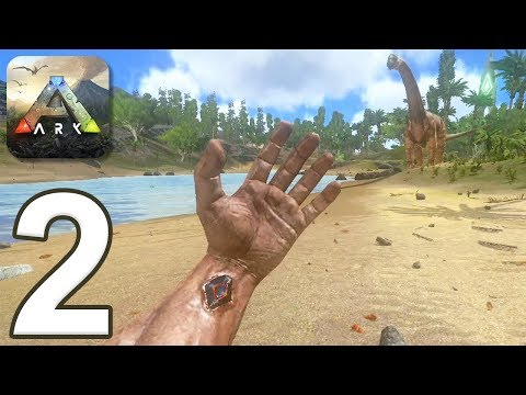 ARK: Survival Evolved Mobile - Gameplay Walkthrough Part 2 - New Character (iOS, Android)