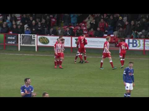 Accrington 1 - 1 Carlisle - highlights