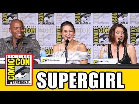 SUPERGIRL Season 2 Comic Con Panel (Part 1) - Melissa Benoist, Tyler Hoechlin, Chyler Leigh