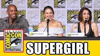 supergirl comic con 2016 panel part 1 melissa benoist tyler hoechlin season 2
