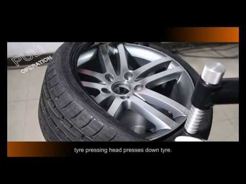 PL-1256 Tyre Changeroperation Video