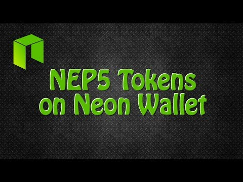 NEP5 Tokens On Neon Wallet. Buy/Sell/Store NEO ICO Tokens.