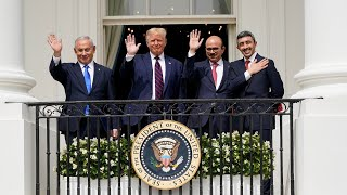 'Dawn of a new Middle East': Trump presides over historic peace deal