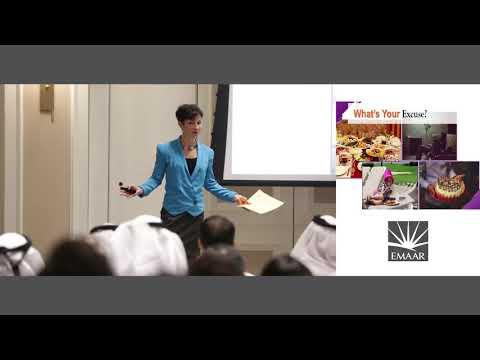 EMAAR Dubai Energy Escalators -  Willpower and Decision Making