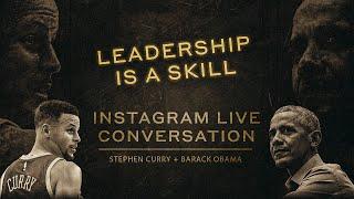 Stephen Curry and Barack Obama…