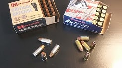 Which is the best concealed carry ammo : 380 ACP vs 9mm Luger