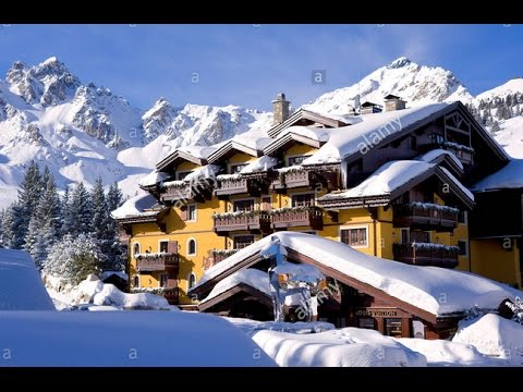 luxury hotel cheval blanc courchevel in france youtube