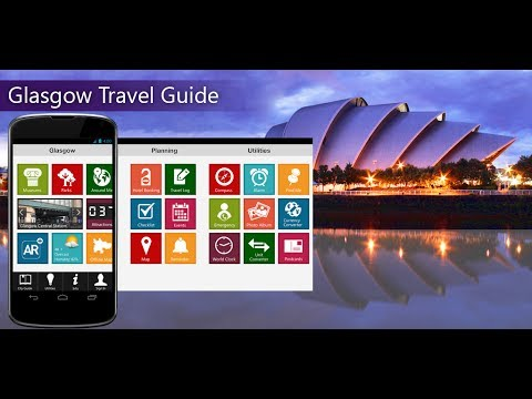 Glasgow Travel Android App Promo - Pangea Guides