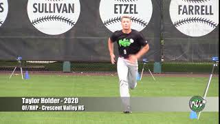 Taylor Holder - PEC - 60 - Crescent Valley HS (OR) - July 9, 2018