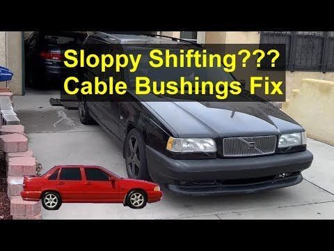 How to replace the shift cable bushings on the Volvo 850, S70, V70, etc. – VOTD