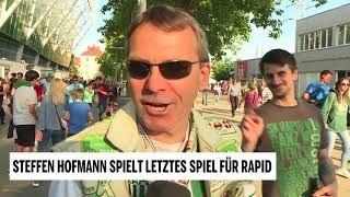 Rapid-Legende Steffen Hofmann bestreitet letztes Heimspiel