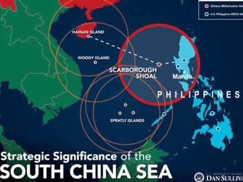 Scarborough Shoal, also known as Huangyan Dao in the South Chinese Sea