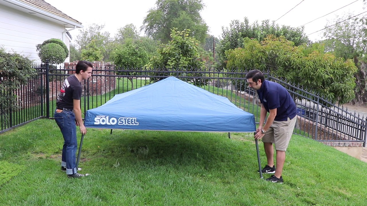 Quik Shade Ultra Compact Folding Canopy 164184 At California Car Cover 2018 Youtube