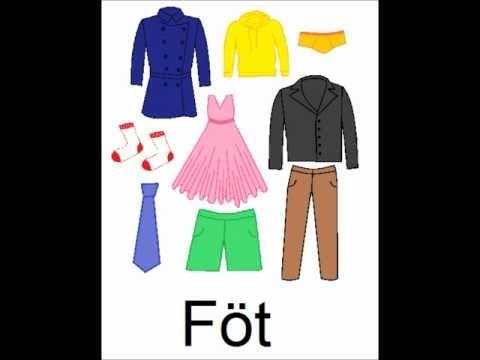 Icelandic Lesson #10: Clothes - Plural and Singular, Pronunciation