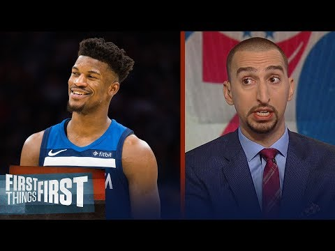 Nick Wright on how the Jimmy Butler trade impacts the Eastern Conference   NBA   FIRST THINGS FIRST
