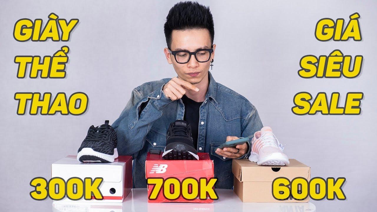 Siêu Sale 12/12 #1 : Giày thể thao chính hãng cả nam và nữ, giá như cho