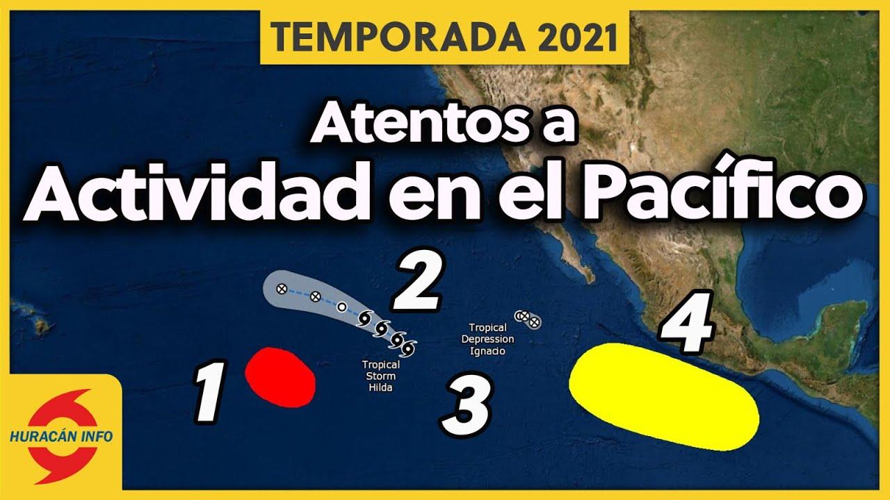 Nuevos ciclones se formarán en el Pacífico.