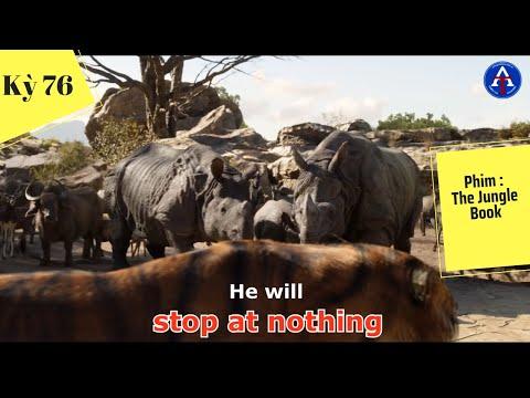 [HỌC IDIOM QUA PHIM] - Stop At Nothing (Phim The Jungle Book)