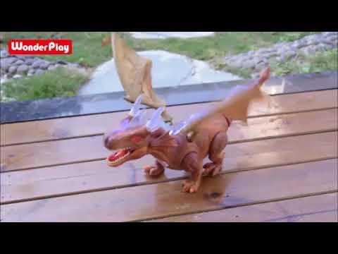 Download WonderPlay Walking Dinosaur Toy
