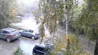 Екатеринбург идёт снег    17 сентября 2014(, 2014-09-17T07:40:28.000Z)