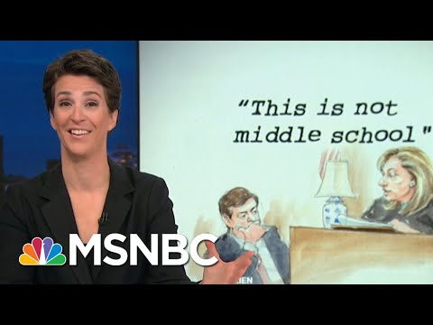 Paul Manafort Appears To Choose Jail Over Helping Donald Trump Russia Probe | Rachel Maddow | MSNBC