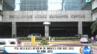 NewsLife: PSE releases review of indices for July 2012 to June 2013 || August 28, 2013