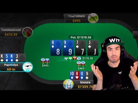 Cruisin' The $500 Pot Limit Omaha Streets! - Twitch Poker Highlights