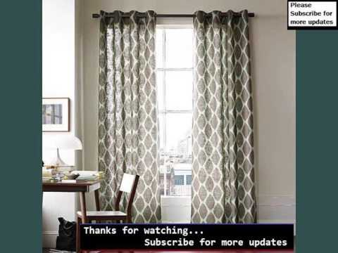 Modern Window Treatments Collection| Modern Windows Curtains