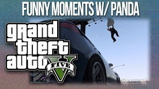 GTA 5 Funny Moments! Gas Tank Roulette, Flying SUVs & Wildcat
