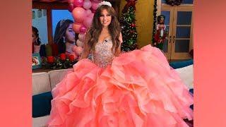 A sus 46 años Thalía se convierte nuevamente en quinceañera