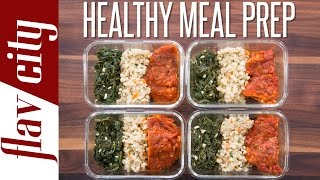 I'm making crazy healthy meal prep that is perfect for weight loss. my chicken loss and prep. ...