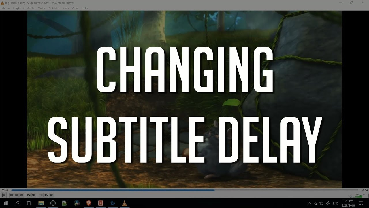 How to Adjust Subtitle Delay and Find Accurate Subs inside VLC Media Player