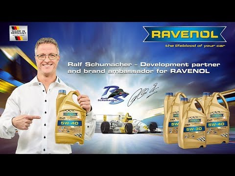 RAVENOL and Ralf Schumacher - a strong partnership