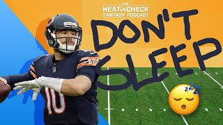 Don't Sleep on Mitchell Trubisky in Fantasy Football: The Heat Check